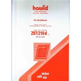 Hawid 297 x 210 mm glashelder