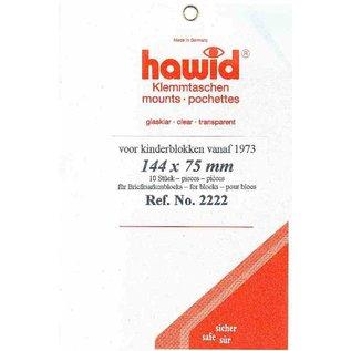 Hawid 144 x 75 mm glashelder
