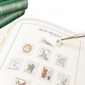 Leuchtturm album SF Belgium deel 1 1849-1944