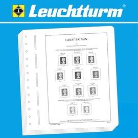 Leuchtturm album pages SF Great Britain Definitive & Regional Issues 1993-2009