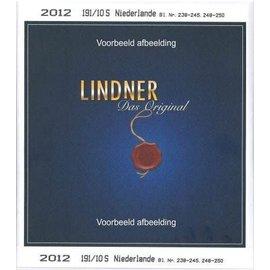 Lindner Netherlands Sheetlets 2018