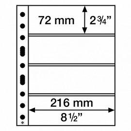 Leuchtturm Einsteckblätter Grande 4 C - 5 Stück