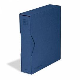 Leuchtturm Ringbinder mit Kassette Optima Pur blau