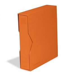 Leuchtturm Ringbinder mit Kassette Optima Pur orange
