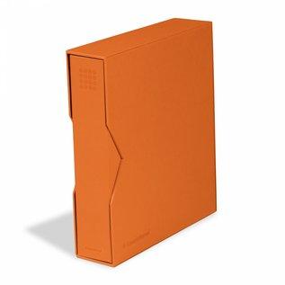 Leuchtturm Ringbinder mit Kassette Optima Pur orange