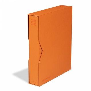 Leuchtturm Ringbinder & Kassette Grande Pur orange