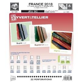 Yvert & Tellier Jeu SC France 2018 1ere semestre