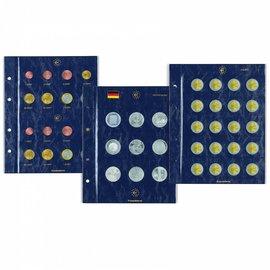 Leuchtturm bladen Vista Euro-munten 2€ 30 jaar Europese vlag - 2 stuks