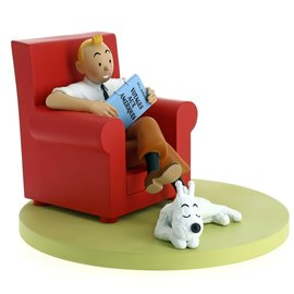 moulinsart Tintin Icons - Tintin in Armchair