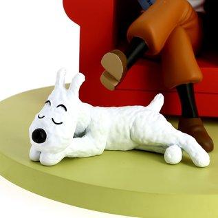 moulinsart Tintin Icons - Tintin in Armchair