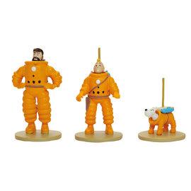 moulinsart Kuifje - Mannen op de maan Trio