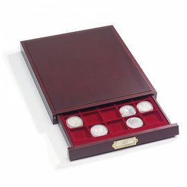 Leuchtturm Coin drawer Lignum 20 compartments for coin holders & QUADRUM