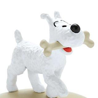 moulinsart Tintin Statue - Struppi mit Knochen