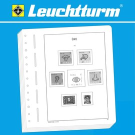 Leuchtturm album pages SF Ireland 2005-2009