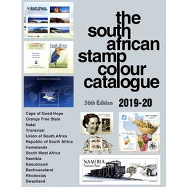 SACC The South African Stamp Colour Catalogue 2019-20