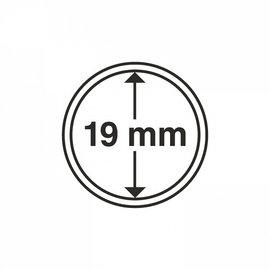 Leuchtturm coin capsules CAPS 19 mm - set of 10