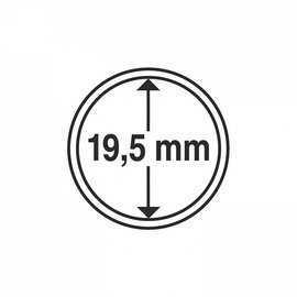Leuchtturm Münzkapseln CAPS 19,5 mm - 10 Stück