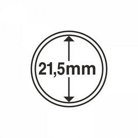 Leuchtturm Münzkapseln CAPS 21,5 mm - 10 Stück
