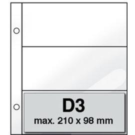 Davo bladen D3 - 10 stuks