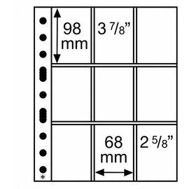 Leuchtturm Glasklare Hüllen sh-312 für Spiel- und Pokemon-Karten - 50 Stück