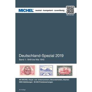 Michel Deutschland-Spezial 2019 Band 1: 1849 bis April 1945