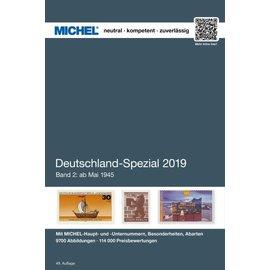 Michel Deutschland-Spezial 2019 Band 2: Ab Mai 1945 (Alliierte Besetzung bis BRD)
