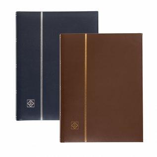 Leuchtturm stockbook LEDER blue