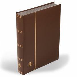 Leuchtturm Einsteckbuch LEDER braun