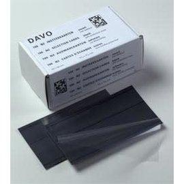 Davo Einsteckkarten N2 2 Streifen - 100 Stück