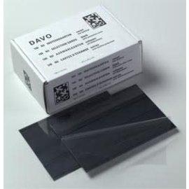 Davo Einsteckkarten N3 3 Streifen - 100 Stück