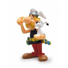 Plastoy Figur Asterix mit Idefix
