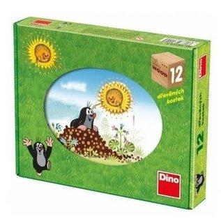 Dino Molletje houten puzzel seizoenen 12
