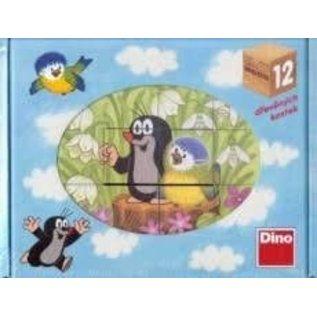 Dino Molletje puzzel vogeltje 12