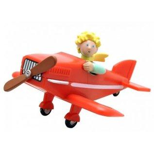 Plastoy Die kleine Prinz Figur im Flugzeug