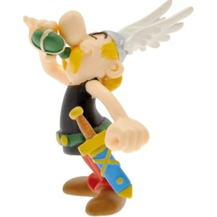 Plastoy Asterix drinkt toverdrank