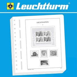 Leuchtturm album pages SF Liechtenstein 1980-1989