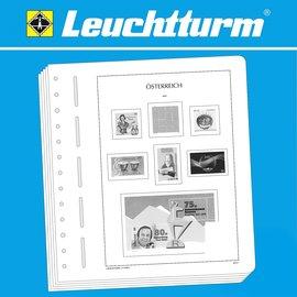 Leuchtturm album pages SF Austria 1918-1921