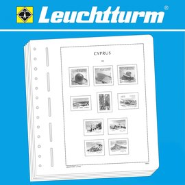 Leuchtturm album pages SF Cyprus 1880-1955