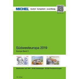 Michel Europa-Katalog Band 2 Südwesteuropa 2019
