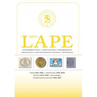 Lape Stamp Catalogue Finland 2019