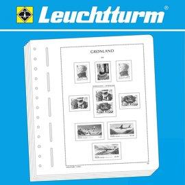 Leuchtturm album pages SF Greenland 1905-1999
