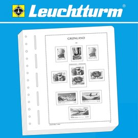 Leuchtturm album pages SF Greenland 2010-2017