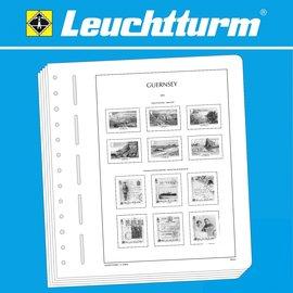 Leuchtturm album pages SF Guernsey 2000-2009