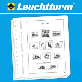 Leuchtturm album pages SF Iceland 1873-1943