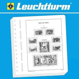 Leuchtturm album pages SF Isle of Man 1988-1999