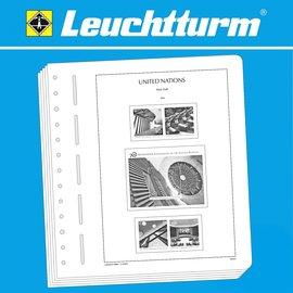 Leuchtturm album pages SF UN New York 1980-1999