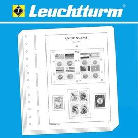 Leuchtturm album pages SF UN Vienna 1979-1999
