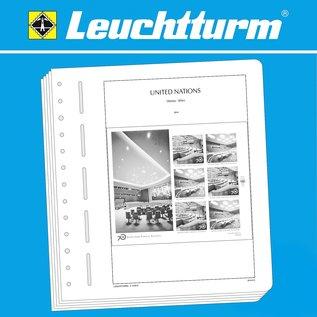Leuchtturm SF UN Vienna sheetlets 2018