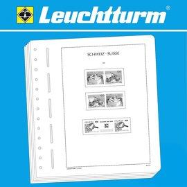 Leuchtturm Text SF Schweiz Zusammendrucke 1909-1953