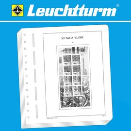 Leuchtturm album pages SF Switzerland Sheetlets 2010-2017